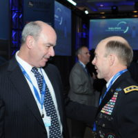 James Soligan (Director, Deloitte) and Gen. Charles Jacoby, Jr. (Commander, North American Aerospace Defense Command and United States Northern Command)