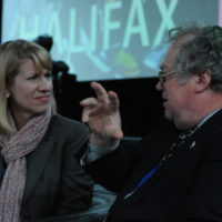 Heather Conley (Senior Fellow and Correspondent, Center for Strategic and International Studies) and Bob Howse (Editor-in-Chief, The Chronicle Herald)