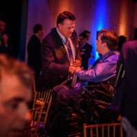 The Hon. Mike Savage (Mayor of Halifax and Minister Kent Hehr (Minister of Veterans Affairs, Canada)