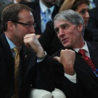 Minister Peter MacKay (Minister of National Defence, Canada) and US Senator Mark Udall