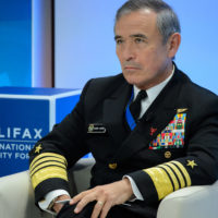 """Admiral Harry B. Harris, Jr. (Commander, United States Pacific Command) on """"The Superpower's Enduring Priorities: Trade, Justice and the American Way"""""""