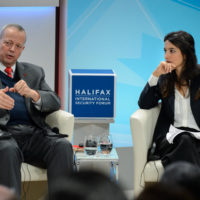 """John Allen (Co-Director, Center for 21st Century Security and Intelligence, The Brookings Institution) and Yalda Hakim (Correspondent, BBC World News) on """"Because Syria: I'm Your Friendly Neighborhood Terrorist"""""""