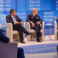 """Falah Mustafa Bakir (Head of Foreign Relations Department, Kurdistan Regional Government), General Jean-Paul Paloméros (Supreme Allied Commander Transformation, NATO), and Lyse Doucet (Chief International Correspondent, BBC) on """"Is Winning Possible? The Laws and Lawlessness of Asymmetric War"""""""