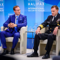 """Minister Peter MacKay (Minister of Justice and Attorney General, Canada) and Admiral Mike Rogers (Commander, US Cyber Command and Director, National Security Agency) on """"Get Smart: Gaining Intelligence, Missing the Meaning"""""""