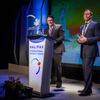 The Hon. Mike Savage (Mayor of Halifax) and Peter MacKay (Former Minister of Justice and Attorney General of Canada)
