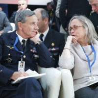 General Jean-Paul Paloméros (Supreme Allied Commander Transformation, NATO) and Carla Robbins (Adjunct Senior Fellow, Council on Foreign Relations)