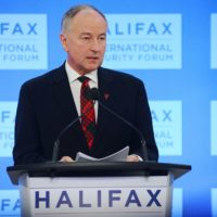 Minister Rob Nicholson (Minister of National Defence, Canada)