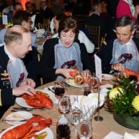 General Charles Jacoby (Commander, United States Northern Command, North American Aerospace Defense Command), US Senator Susan Collins, General Jean-Paul Paloméros (Supreme Allied Commander Transformation, NATO)