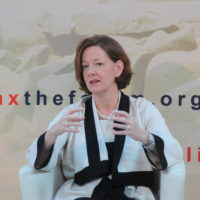 Alison Redford (Premier, Alberta) on North America Off Foreign Oil and Its Impacts Everywhere Else