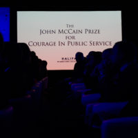 Halifax International Security Forum is proud to present the John McCain Prize for Courage in Public Service