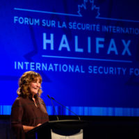 Nancy Southern (Chair and Chief Executive Officer, ATCO) speaks at the 2019 Forum.