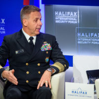 Philip Davidson (Commander of the United States Indo-Pacific Command) speaks at Halifax Chat.