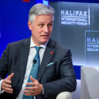 Robert O'Brien (United States National Security Advisor) speaks at Halifax Chat.
