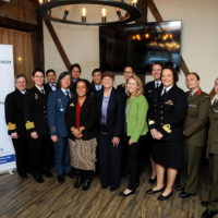 Mentorship Lunch with Admiral Michelle Howard (Retired), General Janet Wolfenbarger (Retired), Major General Patricia Frost (Retired)